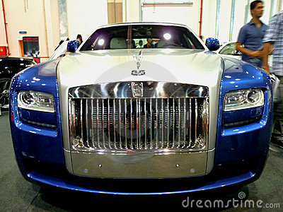 Rolls Royce Phantom Editorial Photography