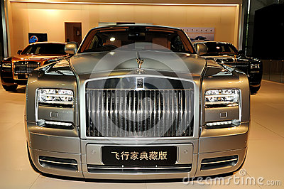 Rolls-Royce Phantom Coupe Aviator Edition Editorial Image