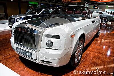 Rolls-Royce Phantom Drophead Coupé Editorial Image