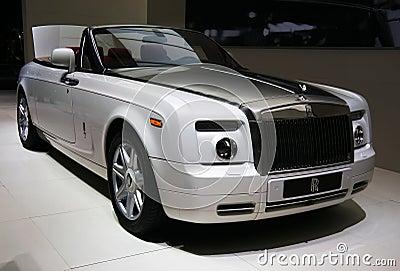 Rolls-Royce Phantom Drophead Coupe Editorial Stock Image