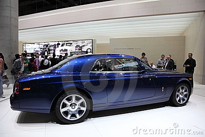 Rolls Royce Phantom at the IAA Editorial Photo