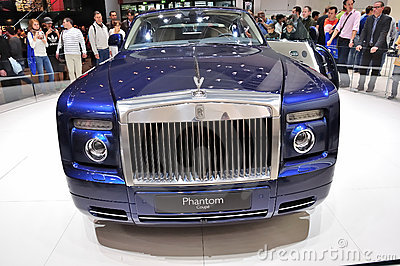 Rolls Royce Phantom on IAA Frankfurt 2011 Editorial Image