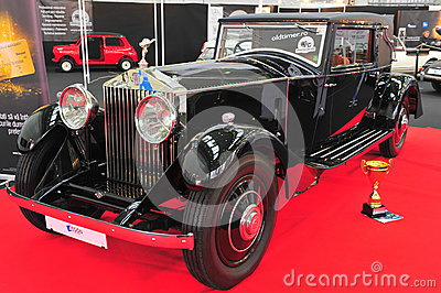 Rolls Royce Phantom restored car Editorial Photo