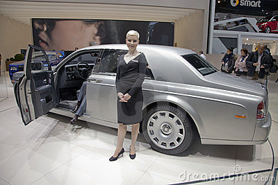 Rolls Royce Phantom Series II Editorial Photography
