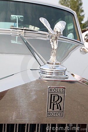 Rolls Royce Spirit of Ecstasy Editorial Photography