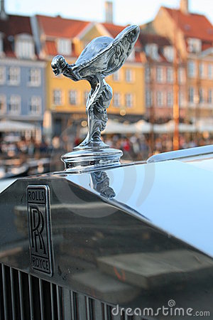 Rolls Royce - Spirit of Ecstasy Editorial Image