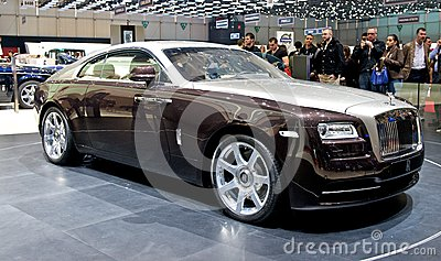 Rolls Royce Wraith 2014 Editorial Stock Image