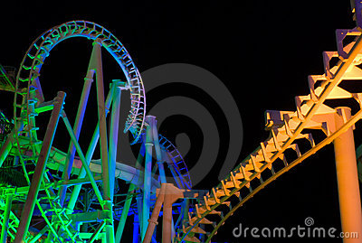 Rolorcoaster (night)
