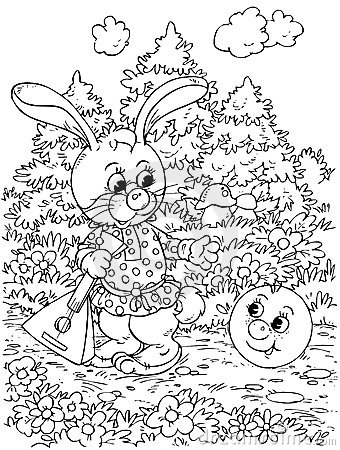 Roly-Poly and Hare