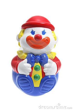 Free Roly-Poly Toy Clown Royalty Free Stock Photography - 8937577