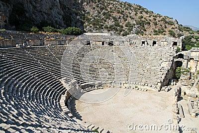 Romański amphitheatre