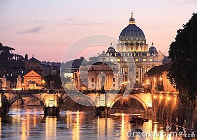 Roma alla notte