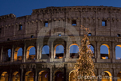 Roma - Colosseo Natale 2007