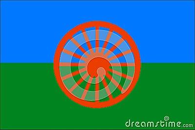 Roma flag