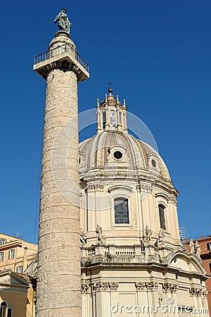 Roma perto da praça Venezia