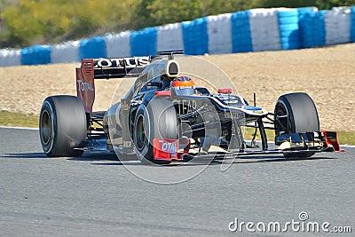 Romain Grosjean (Lotus F1 Team) Editorial Image