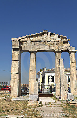 Roman agora at Athens, Greece