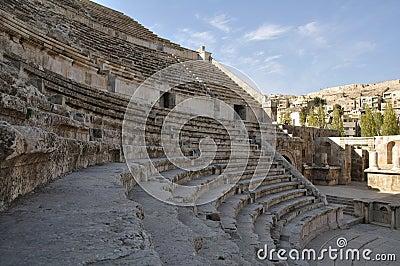 Roman amphiteater in Amman