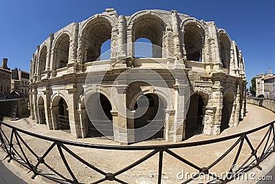 Roman Amphitheater - Arles - South of France