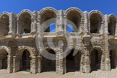 Roman Amphitheater - Arles - South of France