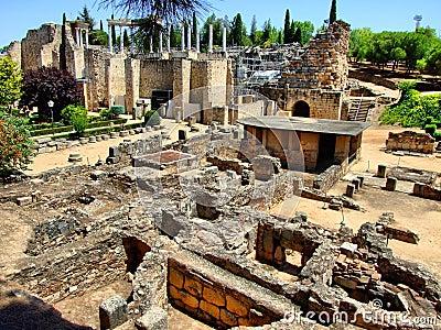 Roman ruins of Merida