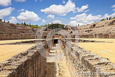 Roman amphitheatre of Italica