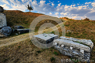 Roman Ampitheater Ruins in Salona