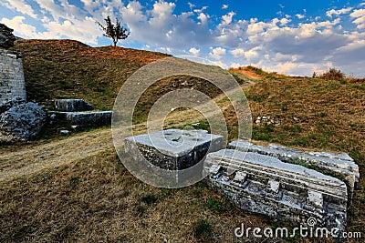 Roman Ampitheater Ruins in Salona