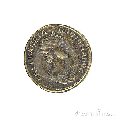 Free Roman Antique Coin Stock Image - 500201