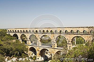 The Roman Aquaduct - Pont du Gard