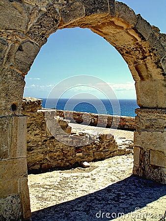 Roman Arch Portrait