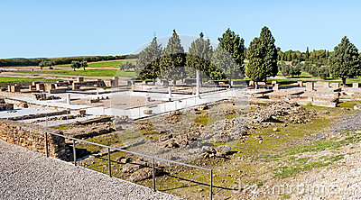 Roman archaeological remains