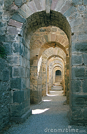 Free Roman Archway In Pergamon Stock Images - 2060044