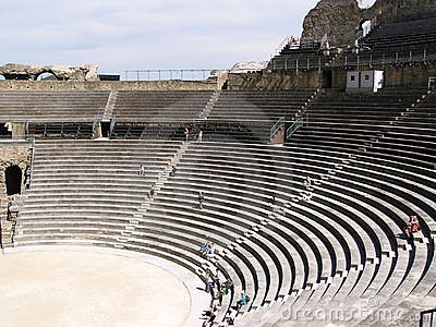 Roman arena in Provence