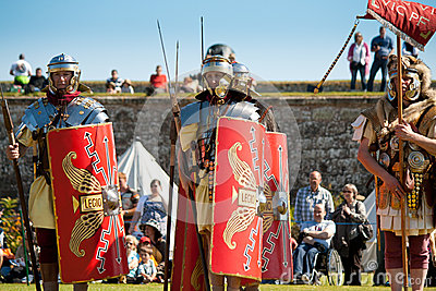 Roman Army Editorial Photography