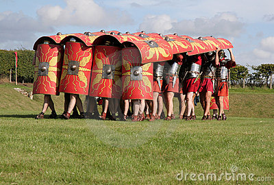 Roman Army Defence position