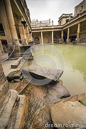 Roman Bath in England