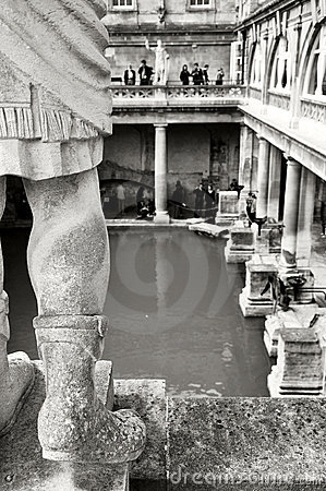 Roman Bath House, Bath UK.