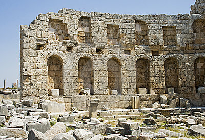 Roman bath in Perga
