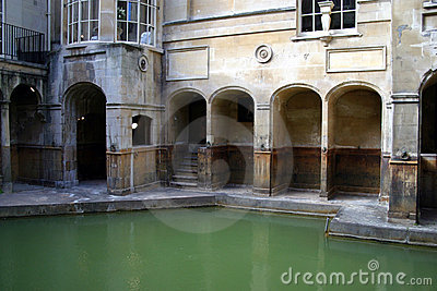Roman Baths (Bath; England)