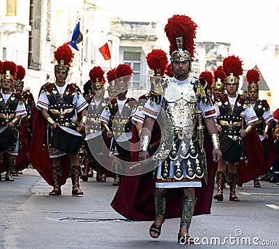Roman Battalion Editorial Photo