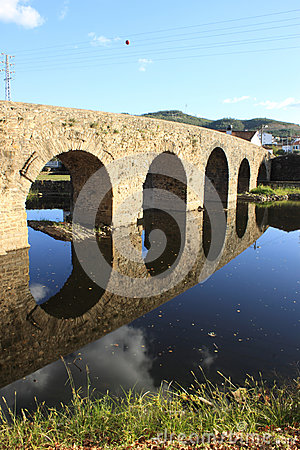 Free Roman Bridge Stock Photo - 27255090
