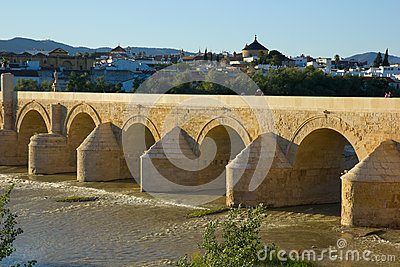 Roman bridge of Cordoba, Spain