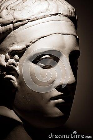 Roman bust copy