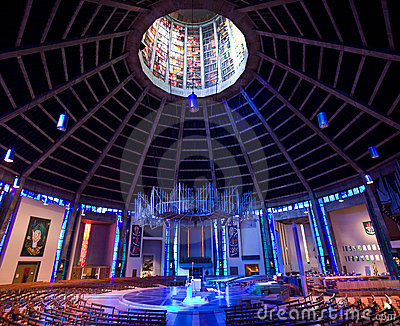 Roman Catholic Cathedral - Liverpool - England Editorial Photo