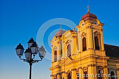 Roman Catholic Episcopal Church in Unirii Square