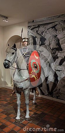 Roman cavalryman Editorial Stock Photo