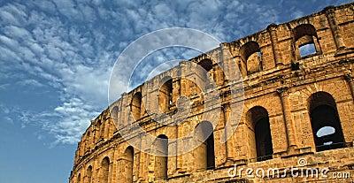 Roman Coliseum - El-Jem, Tunisia