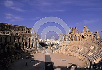 Roman coliseum- Tunisia