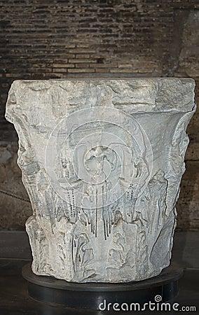 Roman column capitals